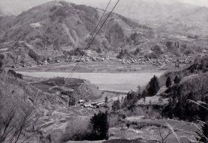 後山よりかにやの遠望1962.4