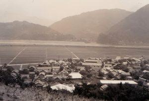 西嶋の眺望40.7.14